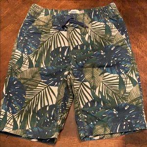 Old Navy boys shorts floral print